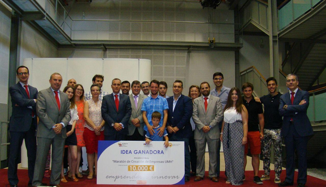 La Nau de la Innovació de la UMH entrega los premios a los ganadores de la 4ª Maratón de Creación de Empresas UMH