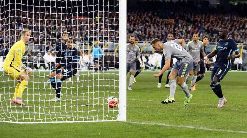 El Madrid exhibe pegada ante el Manchester City con goles de Benzema, Cristiano, Pepe y Cheryshev (4-1)