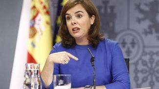 La vicepresidenta coincide con el Rey en que la postura de Artur Mas es