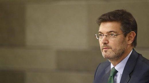 Catalá anuncia que el Gobierno impugnará el decreto de convocatoria del 27S si atenta contra la Constitución