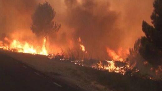 Imputado el propietario de una finca de Ódena por causar accidentalmente el incendio