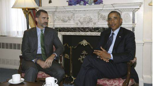Los Reyes se reunirán con Obama el 15 de septiembre
