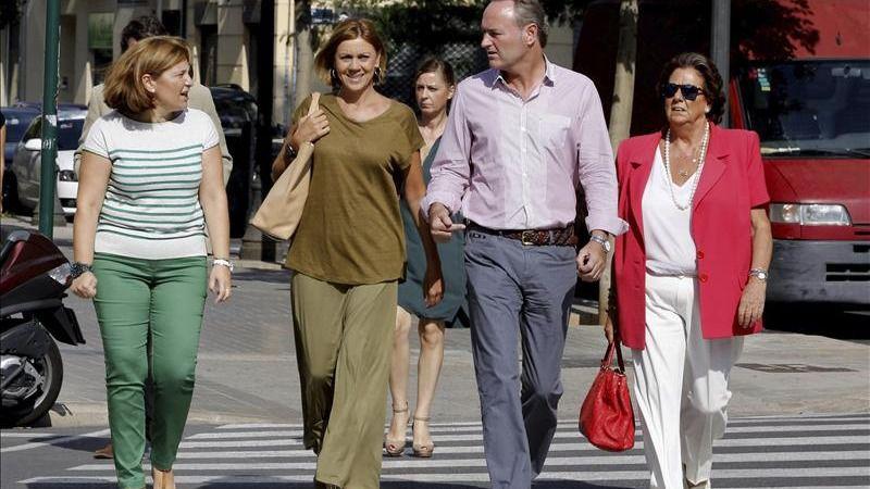 Isabel Bonig elegida 'por aclamación' sustituta de Alberto Fabra al frente del PP valenciano
