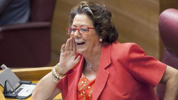 El Tribunal Superior valenciano tramita una denuncia contra Barberá por mantener símbolos franquistas