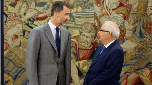 Juan José Imbroda cierra la serie de entrevistas con dirigentes autonómicos de Felipe VI