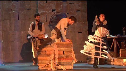 Otro premio, el del Festival de Olmedo, para el original Qujiote de Ron Lalá