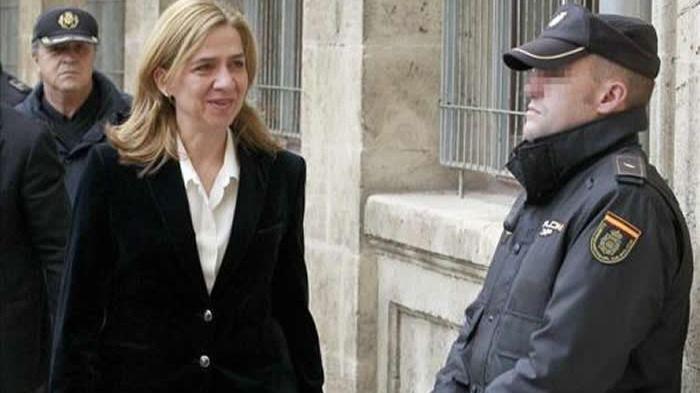 La Audiencia de Palma rebaja la fianza de la infanta Cristina en más de 2 millones de euros