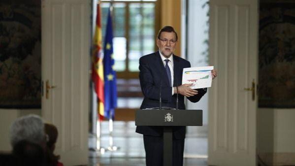 Rajoy presume en su análisis sobre la legislatura