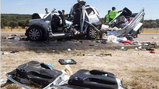 18 muertos en carretera, cuatro de ellos motoristas, trágico balance de la 'operación verano'