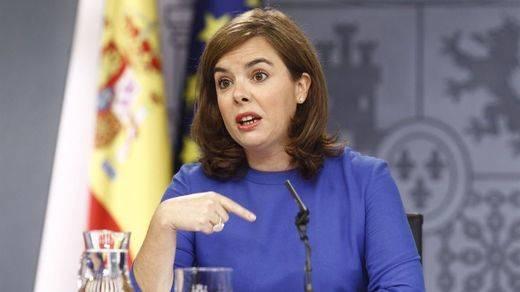 Sáenz de Santamaría adelanta que el presupuesto para el Ministerio de Sanidad subirá un 5,3%