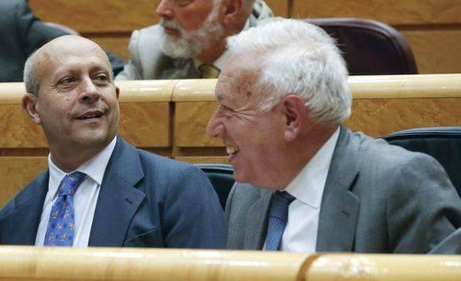 El grupo socialista reclama la comparecencia de Margallo y Wert por la
