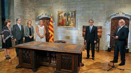 Mas firmó la disolución del Parlament y la convocatoria electoral para el 27-S dentro de la legalidad constitucional