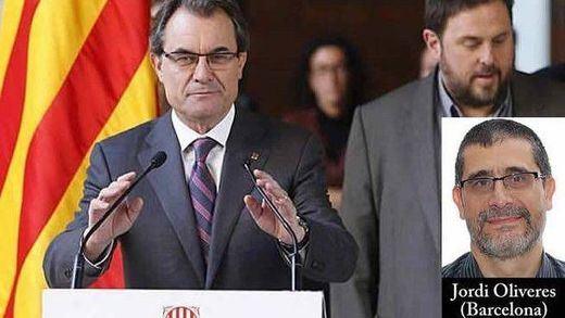 Mas y Junqueras prevén proclamar la independencia si tienen mayoría absoluta de escaños