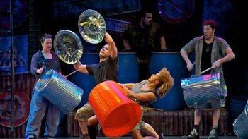 Percusión, música, danza y comedia: el sorprendente 'Stomp' reinaugura el Calderón