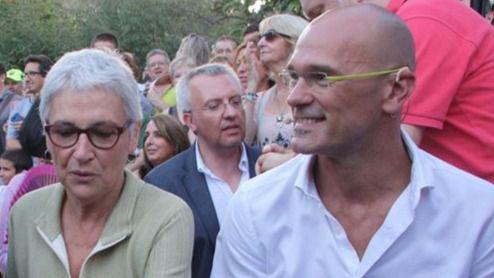 Raül Romeva se crece: 'El Estado apalea a Cataluña de arriba a abajo'