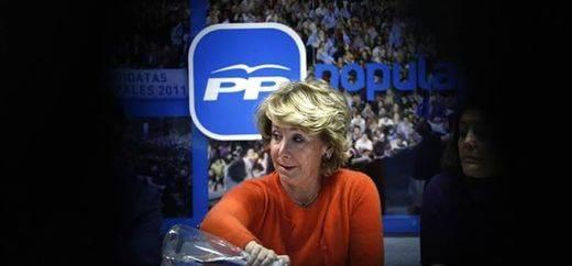 El PSOE 'aconseja' a Aguirre que se ponga
