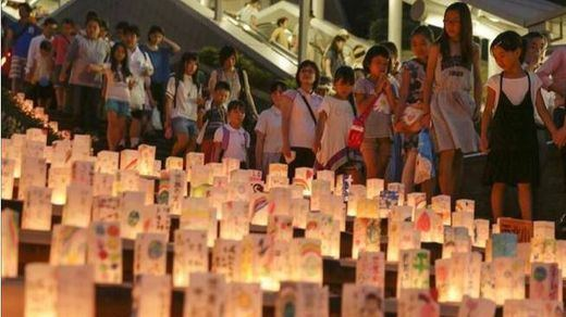 Japón recuerda los 70 años de Nagasaki