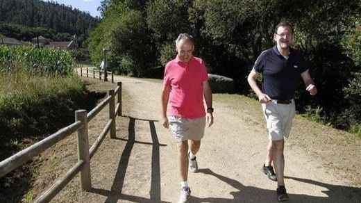 El veraneo del presidente. Rajoy se relaja en tierras gallegas