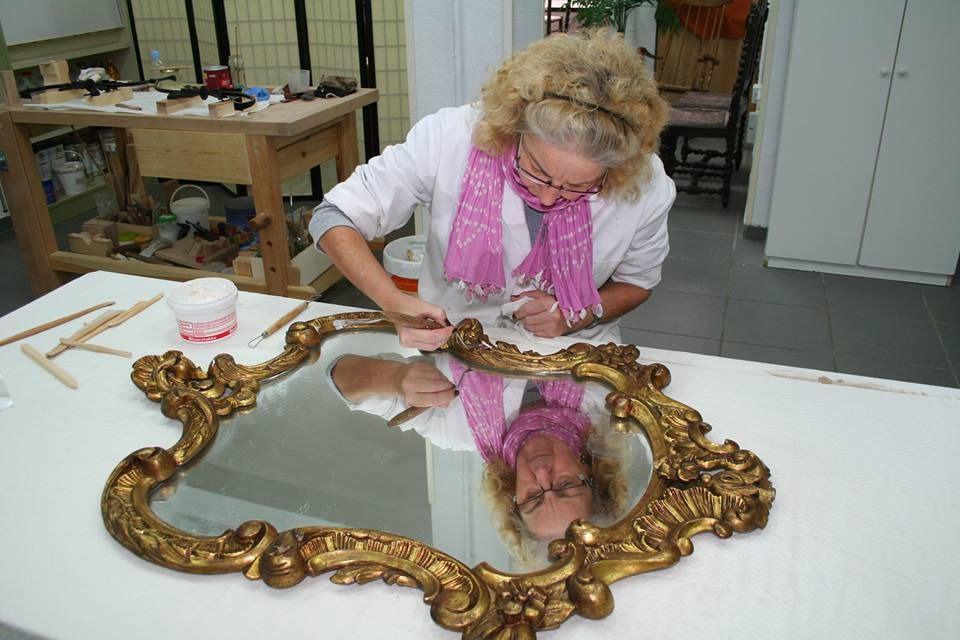 Una emprendedora con discapacidad se embarca en un proyecto de restauración de mobiliario antiguo
