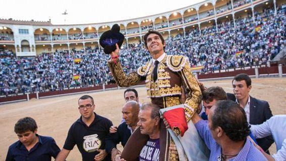 El torero francés, a hombros en Las Ventas en la pasada Feria de San Isidro