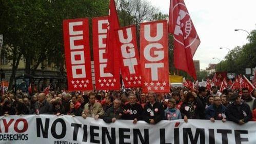 Comisiones Obreras y UGT recibieron más de 8 millones de euros en subvenciones