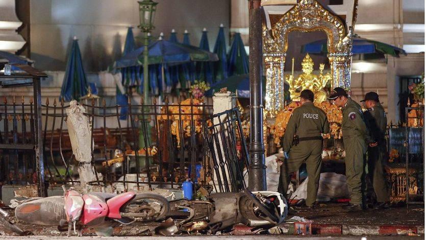 La policía de Tailandia sigue la pista a un sospechoso del atentado de Bangkok