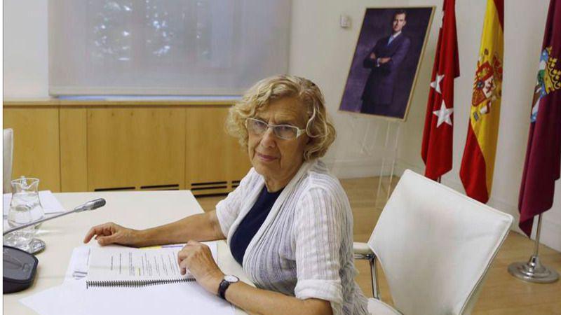 Manuela Carmena se siente 'orgullosa' de que ya no haya desahucios en Madrid
