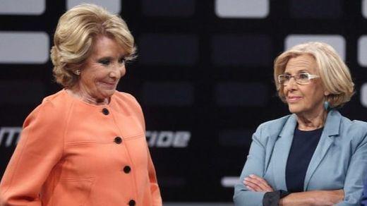 Aguirre ofrece un pacto a PSOE y a Ciudadanos para echar a Carmena del Ayuntamiento de Madrid