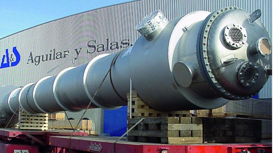Aguilar y Salas, S.A, compañía líder española en la fabricación de intercambiadores de calor