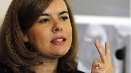 Sáenz de Santamaría ve al PSOE y a Pedro Sánchez aún