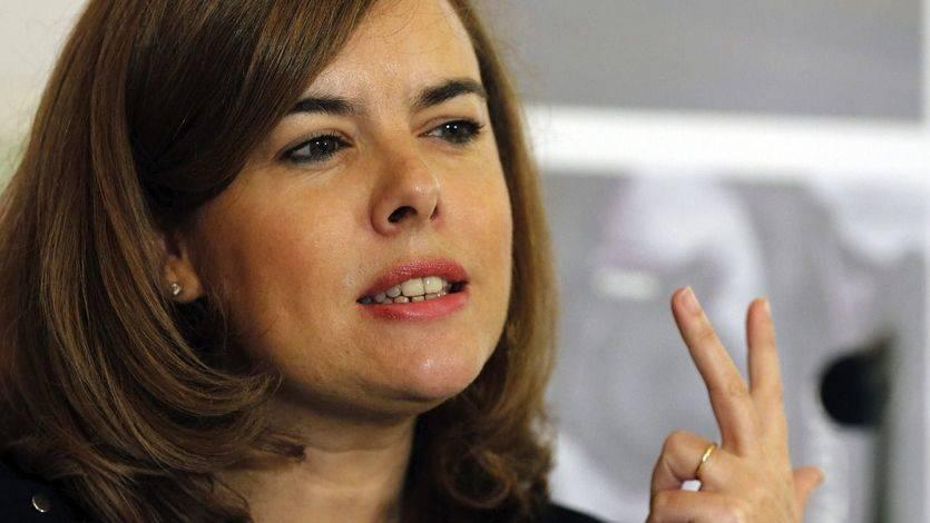 Sáenz de Santamaría ve al PSOE y a Pedro Sánchez aún 'anclados en el momento Zapatero'