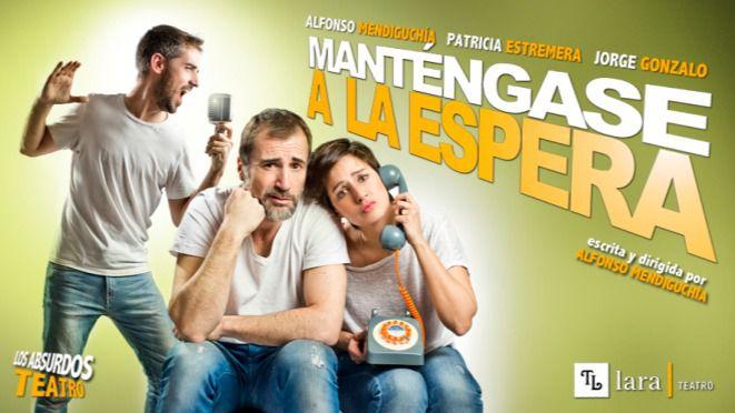 'Manténgase a la espera', por la compañía Los Absurdos Teatro, sube al escenario la procelosa aventura de cambiar de proveedor telefónico