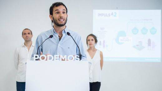 Podemos destinará 300.000 euros de las donaciones de sus cargos públicos a proyectos sociales