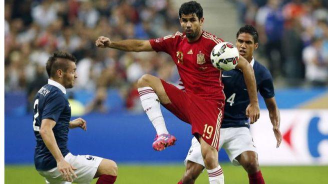 Del Bosque repesca a Diego Costa en lugar del lesionado Morata para el decisivo partido ante Eslovaquia