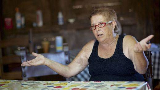 El Gobierno indulta a Josefa pero recuerda que tiene que derruir su vivienda ilegal