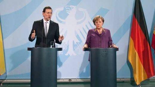 Rajoy vuelve con fuerza: inicia con la visita a Merkel una intensa semana de contactos