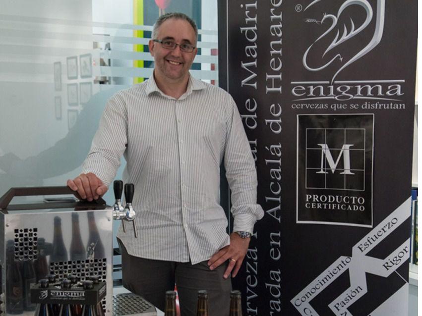 El viaje de de una cerveza artesana de EEUU a Alcalá