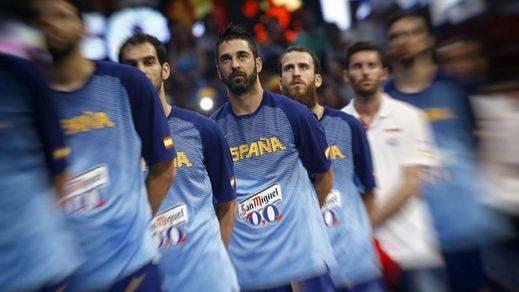 Homenaje a los baloncestistas con más de 150 partidos con España