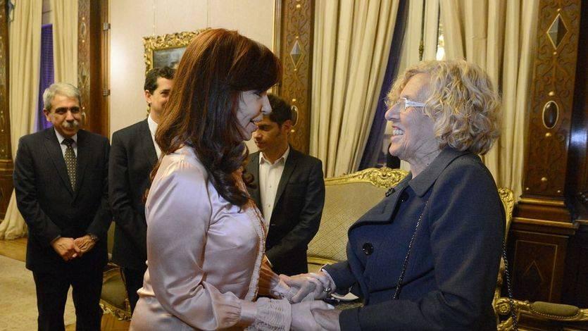 Aguirre critica la 'ideología' de Carmena tras la reunión de la alcaldesa con la presidenta de Argentina