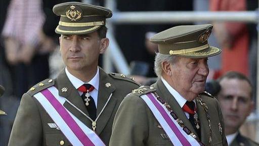 El Rey Juan Carlos I elogia a Felipe VI: