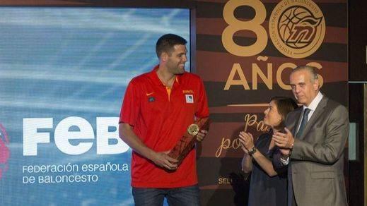 Felipe Reyes se 'moja' de cara al Eurobasket: 'Hay que traerse una medalla'