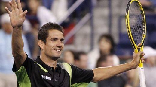 García López, único superviviente de la armada el segundo día del Open USA