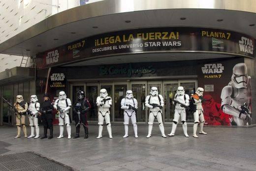 El Corte Inglés se suma a la cuenta atrás mundial para el estreno de 'Star Wars: el despertar de la Fuerza'