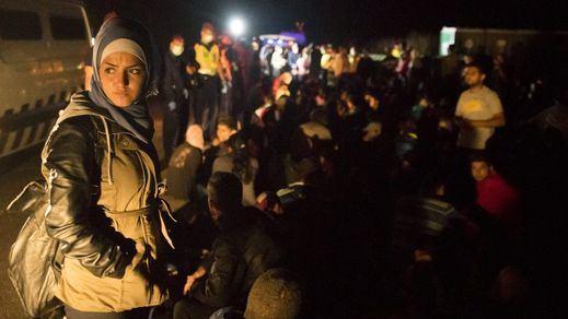 Agresiones a refugiados en Grecia