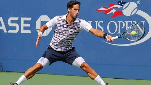 US Open: Feliciano se supera y llega a los cuartos de final, donde se medirá a Djokovic