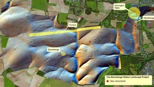 Descubren un nuevo monumento muy cerca del mítico Stonehenge