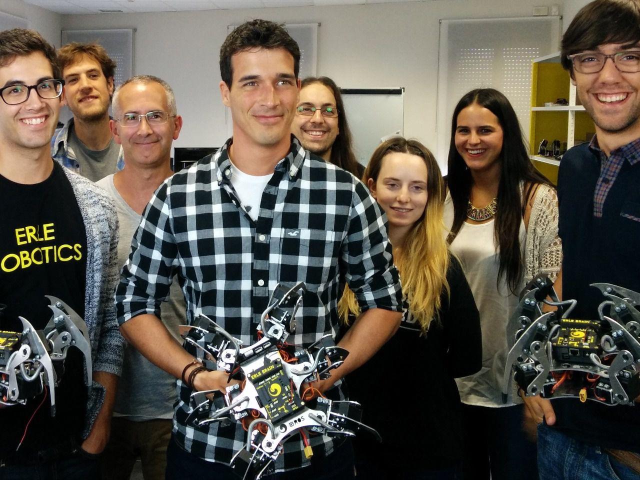 Una joven empresa vasca lanza la primera araña robótica de España