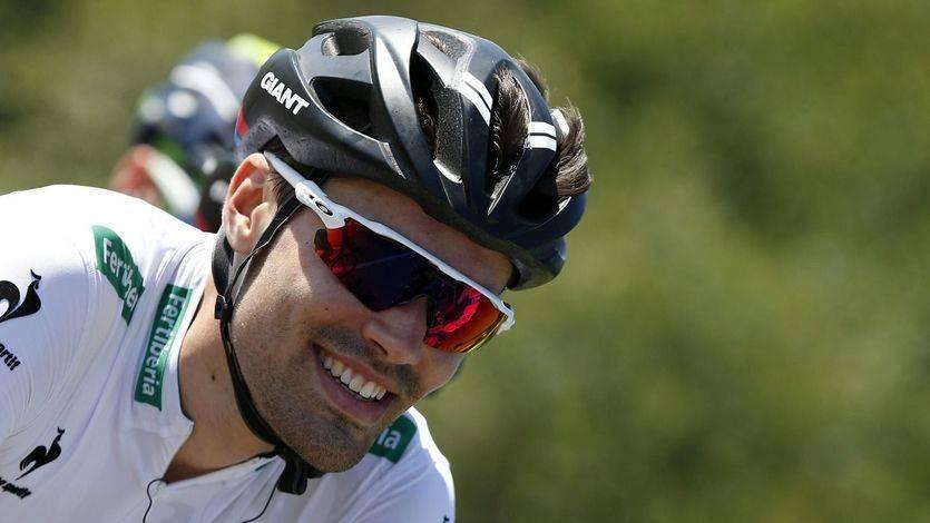 Dumoulin gana la crono de Burgos y arrebata el liderato a 'Purito'