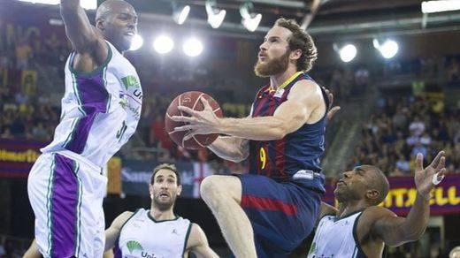 El jugador del Barcelona Marcelinho Huertas se marcha a Los Angeles Lakers