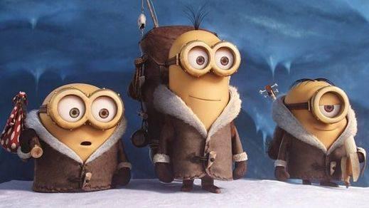 'Los Minions' se acerca a 'Frozen' como la película de animación más taquillera de la historia
